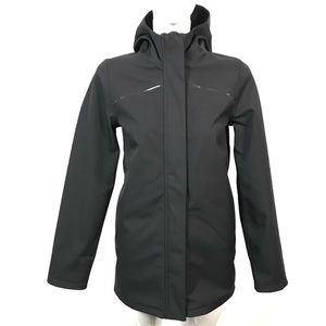 Ivivva soft shell jacket fleece lined
